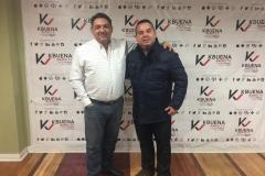 Con Lisandro Linares