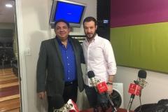 Con Juan Merodio