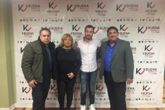 Bernado, Lupe y Juan Merodio