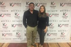 Con Veronica Costa