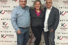 Angelica González y Gustavo Abello
