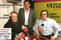 Daniel García Herreros y Roberto Belingueres