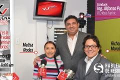 Melisa Rodas y Richard Morales