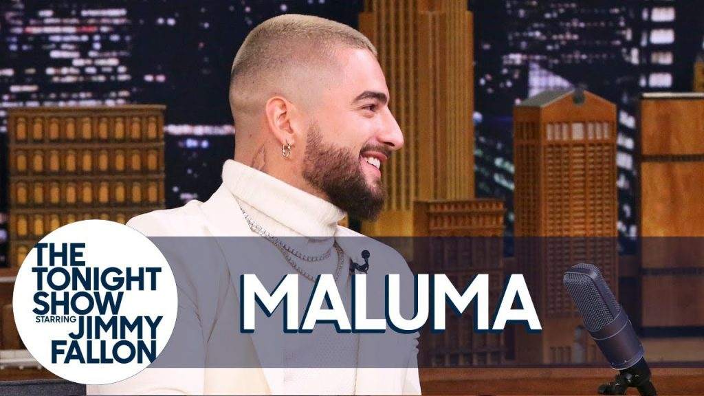 Maluma en Jimmy Fallon Show